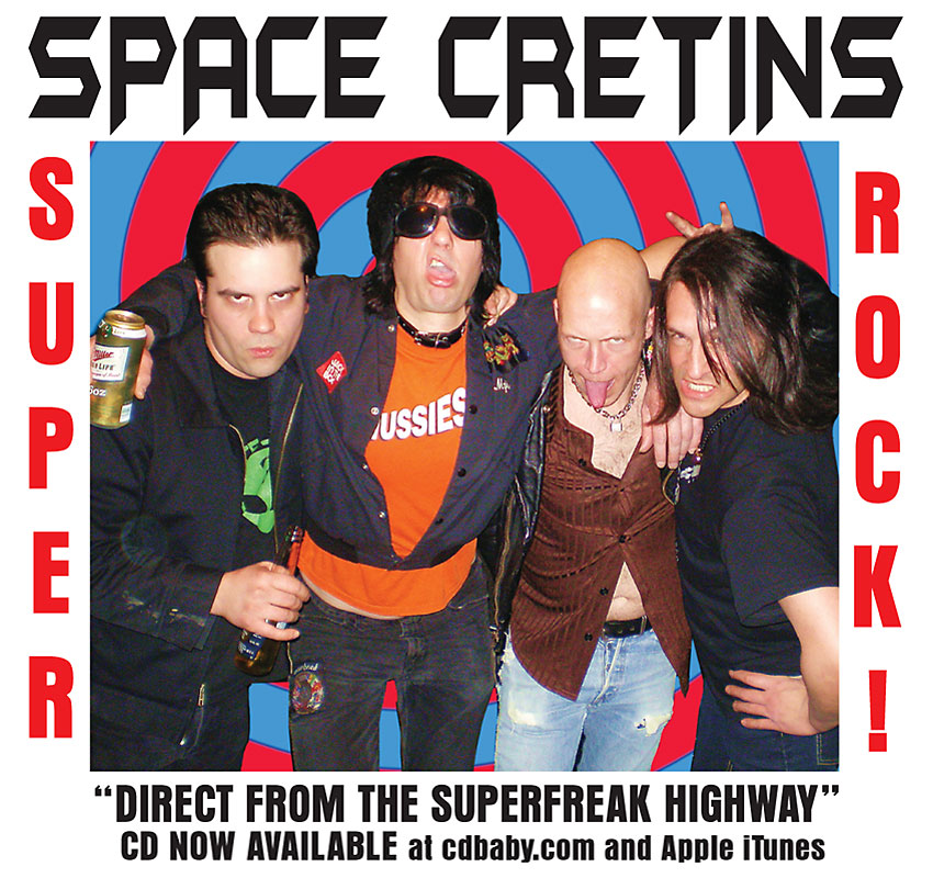 space cretins 2009